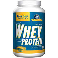 Jarrow Formulas, 100% натуральный сывороточный протеин, без вкусовых добавок, 32 унции (908 г.)