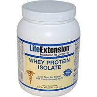 Life Extension, Изолят сывороточного протеина, с натуральным вкусом шоколада, 16 унций (454 г)