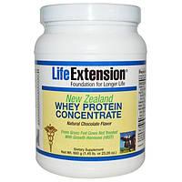 Life Extension, Новозеландский концентрат молочной сыворотки, Натуральный аромат шоколада, 660 г