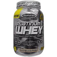 Muscletech, 100% Платиновая сыворотка, Печенье и сливки, 2,00 фунта (907 г)