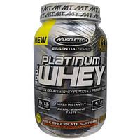 Muscletech, 100% Платиновая сыворотка, Превосходный молочный шоколад, 2,01 фунта (910 г)