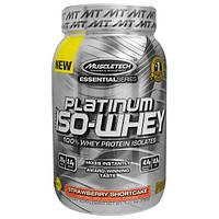 Muscletech, Platinum 100% Iso-Whey,Strawberry Shortcake, 1.75 lbs (792 g)