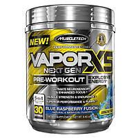 Muscletech, Vapor X5 Next Gen, Pre-Workout, Blue Raspberry Fusion, 9.40 oz (266 g)