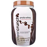 BNRG, Proto Whey, Чистый сывороточный белок с высокой степенью гидролиза, двойной шоколад, 2.1 фунтов (962 г)