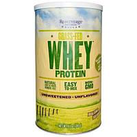 ReserveAge Nutrition, Сывороточный протеин Grass Fed, без вкусовых добавок, 11.1 унций (316 г)