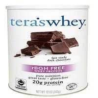 Teras Whey, Сывороточный протеин без гормонов роста, с этически покупаемым темным шоколадом, 12 унций (340 г)