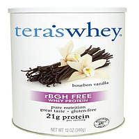 Teras Whey, rBGH-Free Whey Protein, Bourbon Vanilla, 12 oz (340 g)