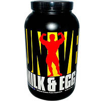 Universal Nutrition, Молочный и яичный белок, со вкусом ванили, 3 фунта (1,36 кг)