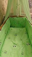 """Комплект постельного белья для новорожденного """"Пандочка"""""""