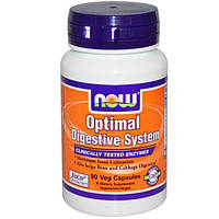 Now Foods, Optimal Digestive System, 90 капсул