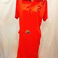 Платье трикотажное длинное Турция