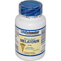Life Extension, Мелатонин для естественного сна, 60 капсул на растительной основе