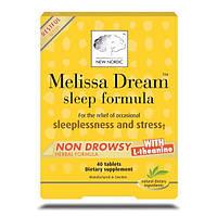New Nordic US Inc, Melissa Dream, формула сна, 40 таблеток