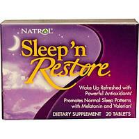 Natrol, Восстановление сна, 20 таблеток