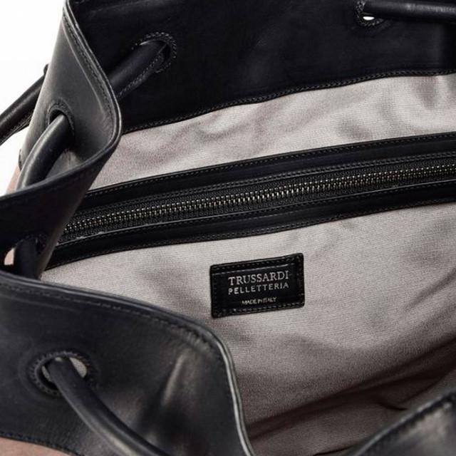 Кожаный рюкзак Trussardi