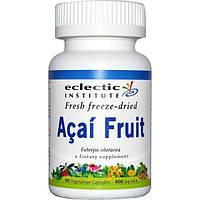 Eclectic Institute, Плоды асаи, 400 мг, 90 вегетарианских капсул