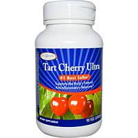 Enzymatic Therapy, Кислая вишня ультра, 90 растительных капсул
