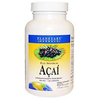 Planetary Herbals, Акаи, полный спектр, 500 мг, 120 капсул