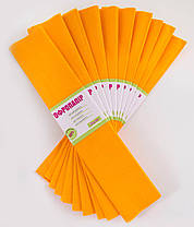Папір гофрований 1 Вересня 55% темно-жовта