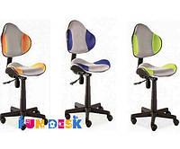 Детское кресло FunDesk LST3 Green-Grey