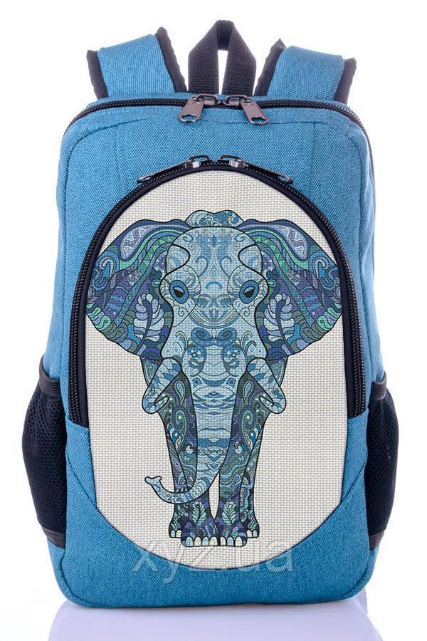 Рюкзак New Design Голубой Слон, фото 1