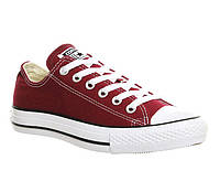 Кеды converse all star low burgundy (35-44р.)