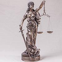 "Шикарная статуэтка Veronese ""Фемида"" (65*25 см). под бронзу"