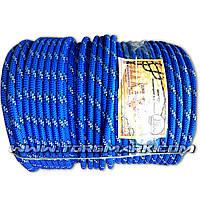Фал веревка 10 мм полип. - цветной -  100 м - Украина