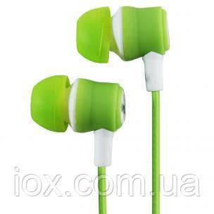 Вставные наушники вкладыши Awmax J-4 зеленые