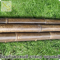 Бамбуковый ствол черно-коричневый диам.1,8-2см. Длина 2м.