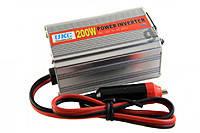 Преобразователь авто инвертор 12V-220V 200W, Преобразователь напряжения 12 - 220V 200 W