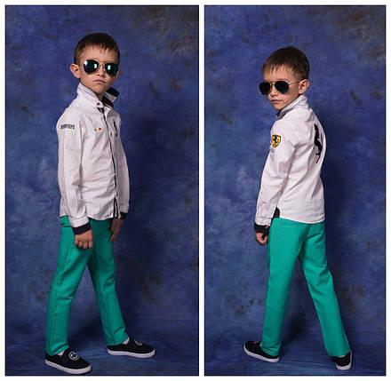 """Стильные детские джинсы для мальчика """"Armani"""" с карманами, фото 2"""