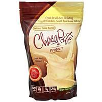 HealthSmart Foods, Inc., Белок ЧокоРайт, тесто для приготовления желтых кексов, 14,7 унции (418 г)