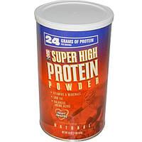MLO Natural, Super High Protein Порошок, супер насыщенный протеиновый порошок, 16 унций (454 г)