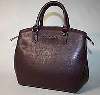 Женская сумка Tony Bellucci бордовая натуральная кожа