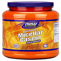 Now Foods, Sports, Instantized Micellar Casein, 1.8 lbs