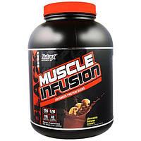 Nutrex Research Labs, Инфузия для мышц из черной серии, передовой белковый коктейль со вкусом банановых хрустиков в шоколаде, 5 фунтов (2268 г)