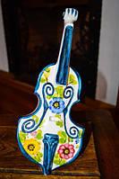 Коллекционная скульптура,Скрипка! ITALY!, фото 1