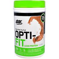 Optimum Nutrition, Opti-Fit Бедный Протеином Коктейль, Кофе Мокко, 1,83 фунта (832 г)