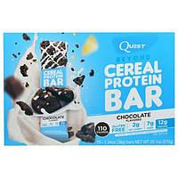 Quest Nutrition, Батончики с Протеиновыми Зернами, С Ароматом Шоколада, 15 батончиков, 1,34 унции (38 г) каждый