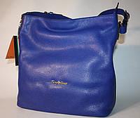 Женская сумка Tony Bellucci синяя электрик натуральная кожа