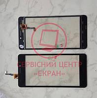 Oukitel C3 тачскрін сенсор чорний оригінальний