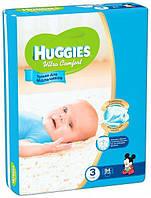 Подгузники Huggies Ultra Comfort 3 (5-9 кг) для мальчиков Giga Pack 94 шт.