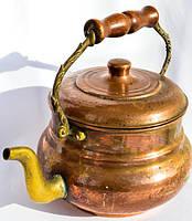 Антикварный чайник,заварник! Portugal. Медь,2,5 л.
