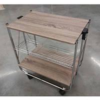 Стол сервировочный складной Дуб Сонома, фото 1
