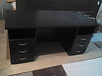 Стол с ящиками компьютерный черный