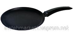 Сковорода блинная БИОЛ 2008П (200х18 мм) алюминиевая с антипригарным покрытием, бакелитовая ручка