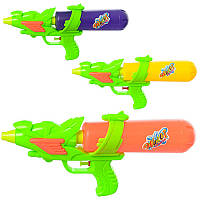 Детский водяной пистолет M 3061, размер средний, 32см, 3 цвета, в кульке, 32-15-5,5см