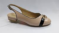 Босоножки на низком каблуке. Большие ( 41 - 43 ) размеры., фото 1