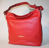 Женская сумка Tony Bellucci красная натуральная кожа